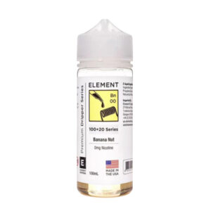 Element Gotero Banana Nut 100ml Eliquid Shortfill Botella