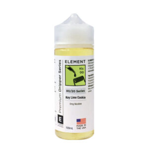 Element Gotero Key Lime Cookie 100ml Eliquid Shortfill Botella