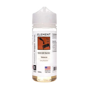 Element Gotero Tabaco 100ml Eliquid Shortfill Botella