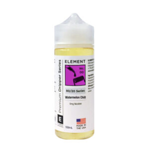Element Dripper Watermelon Chill 100ml Eliquid Shortfill Botella