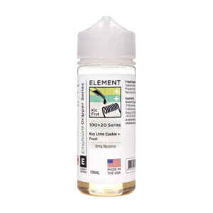 Element Emulsiones Key Lime Cookie Frost 100ml Eliquid Shortfill Botella