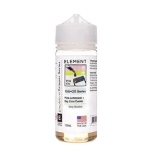 Element Emulsiones Pink Lemonade Key Lime Cookie 100ml Eliquid Shortfill Botella