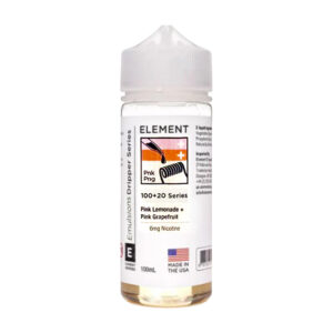 Element Emulsiones Pink Lemonade Pink Grapefruit 100ml Eliquid Shortfill Botella