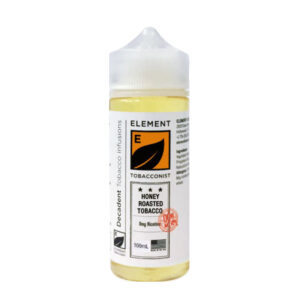 Element Tobacconist Honey Roast Tobacco 100ml Eliquid Shortfill Botella