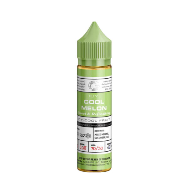 Glas Basix Eliquid Cool Melon 50ml Shortfill Botella