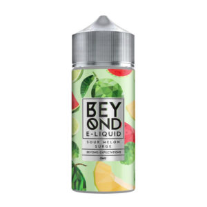 Ivg Beyond Sour Melon Surge 100ml Eliquid Shortfill Botella