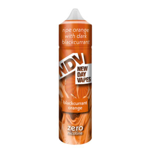 Ndv Eliquid de naranja grosella negra 50ml Shortfill Botella por New Day Vapes
