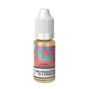 Vaqids Berry Burst Nic Salt Eliquid Botella de 10 ml