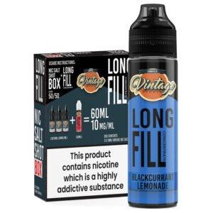 Limonada de grosella negra Vintage 30ml Longfill Eliquid Concentrado 3x 10ml Inyecciones de nicotina