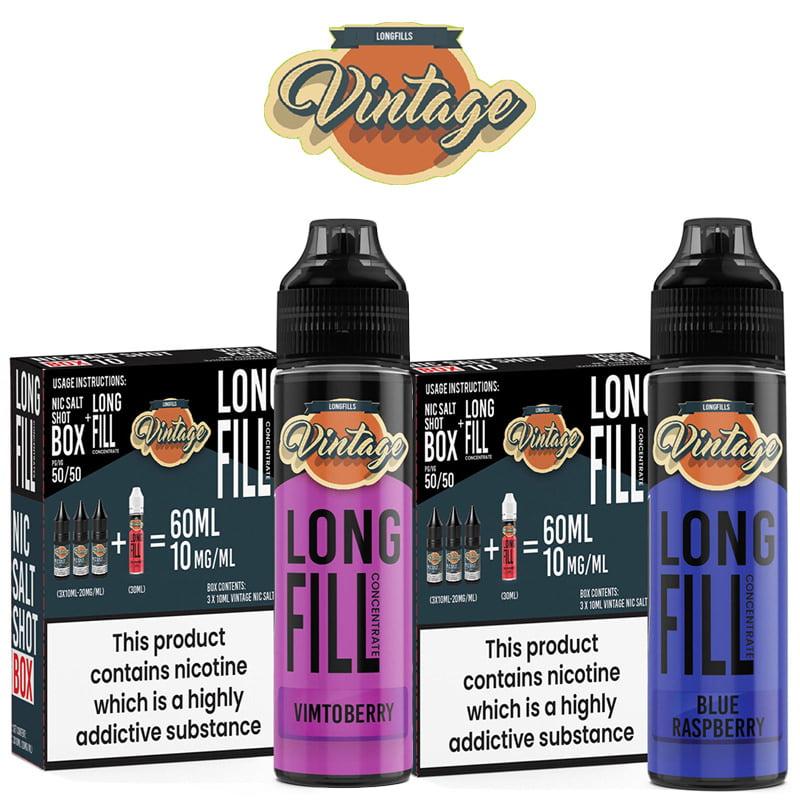 Vintage Longfill E-Liquid
