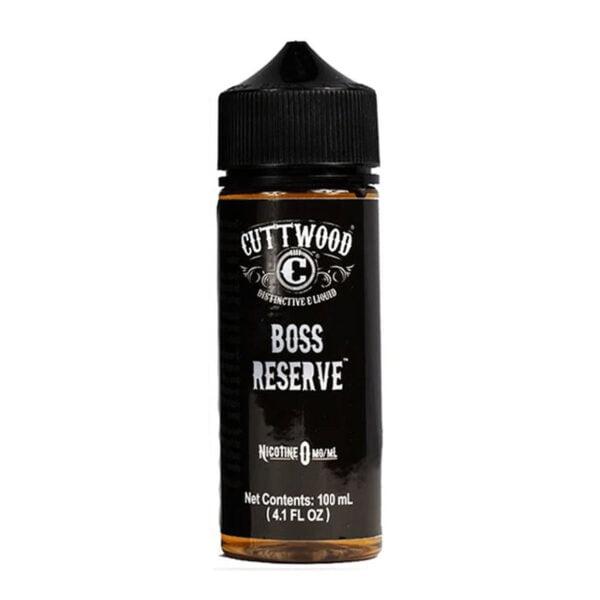 Cuttwood Boss Reserve 100ml Eliquid Shortfill Botella