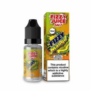 gazirano juice mango nic sol tekočina steklenica s škatlo