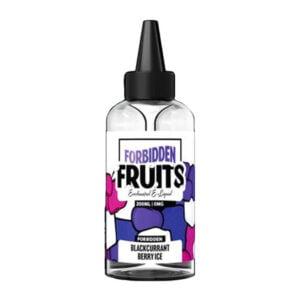 Uždrausti vaisiai Juodųjų serbentų uogų ledas 200ml Eliquid Shortfill Butelis