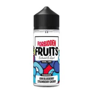 Draudžiami vaisiai kivių mėlynių braškių vyšnios 100ml Eliquid Shortfill Butelis