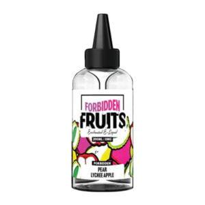 Uždraustų vaisių kriaušių ličių obuoliai 200ml Eliquid Shortfill Butelis