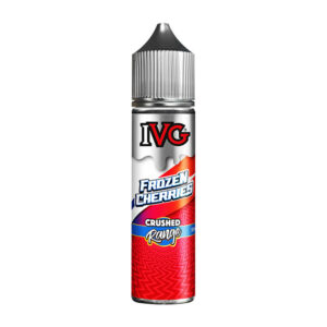 ivg crushed frozen cherries 50ml eliquid shortfill bottle