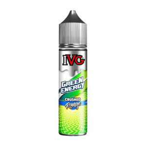 ivg crushed green energy 50ml eliquid shortfill bottle