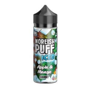 Moreiash Puff Iced Apple Mango Sherbet 100ml Eliquid Shortfill Bottle