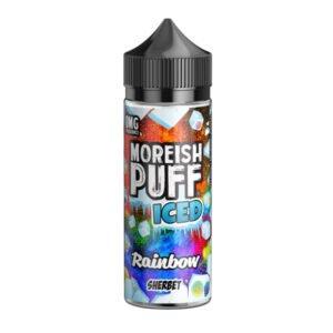Moreiash Puff Iced Rainbow Sherbet 100 ml tekočina Shortfill Steklenica