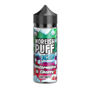 Moreiash Puff Iced Watermelon Cherry Candy kapljice 100 ml tekočina Shortfill Steklenica