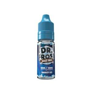 dr frost energi is 10 ml nic salt eliquid flaska