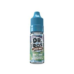 dr frost honungsdagg svarta vinbäris 10 ml nic salt flytande flaska