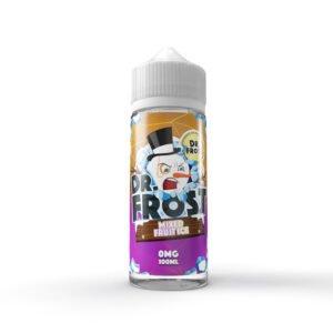 dr frost blandad fruktis 100 ml flytande shortfill flaska