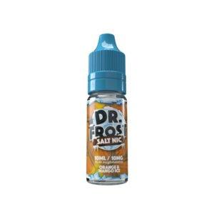 dr frost orange mangois 10 ml nic salt eliquid flaska