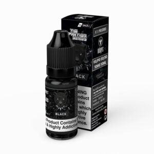 dr vapes the panther series black nic salt eliquid 10ml flaska med låda