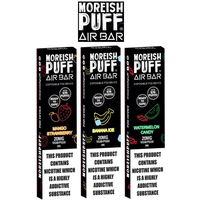 Moreish Puff Air Bar Disposable Pods
