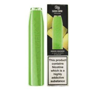 geek bar green mango disposable vape pod 1