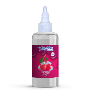 Kingston cherry chill 500ml eliquid láhev