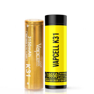 vapcell k31 inr 18650 3150mAh vape batteri