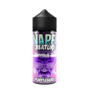 vape creature Gražus violetinis 100 ml eliquid shortfill butelis