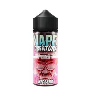 vape creature grazus redberg 100ml eliquid shortfill butelis