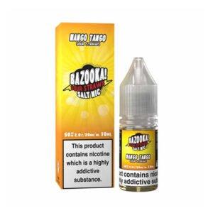 bazooka mango tango sour straws nic salt eliquid 10ml bottle with box