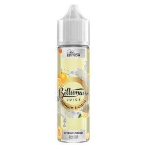 citrino sutraiškymas 50ml elikvidus shortfills milijardieriaus juice platinos leidimas