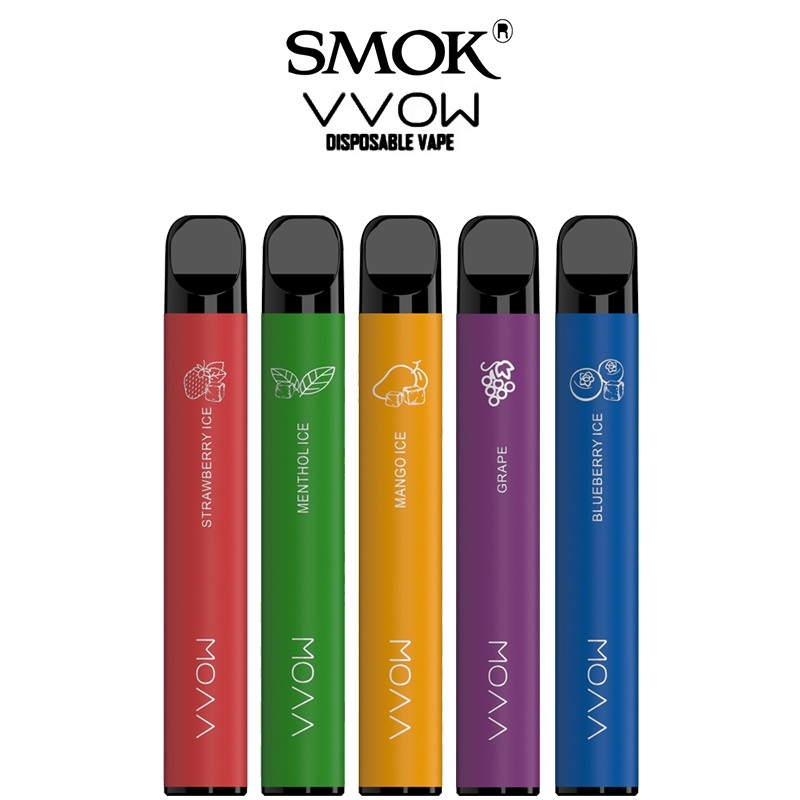 Smok VVOW einnota vape belgir