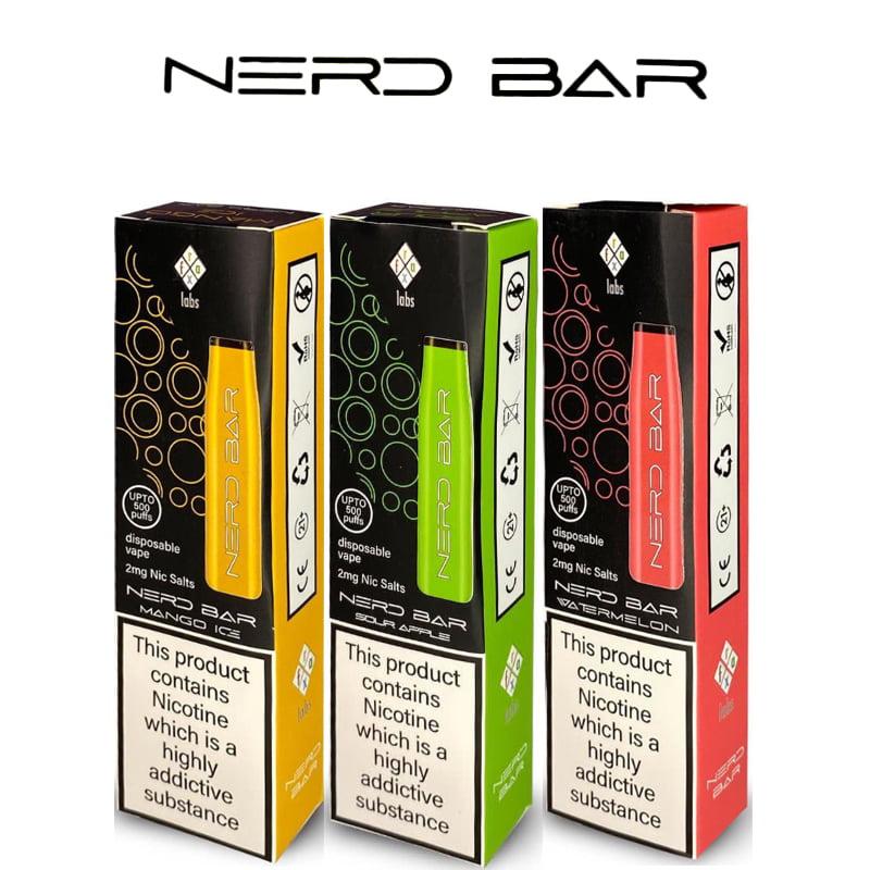Nerd Bar de unică folosință Vape Pods