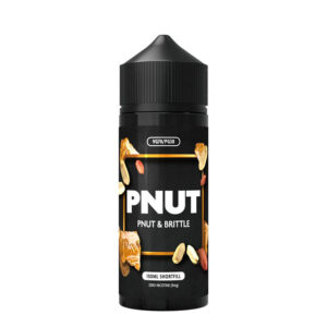 pnut trausls 100ml eliquid shortfill pudele ar pnut
