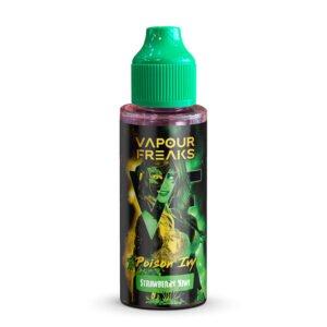 vapor freaks poison ivy 100ml eliquid shortfill flaska