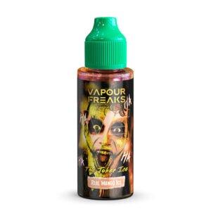 vapor freaks the joker ice 100ml eliquid shortfill flaska