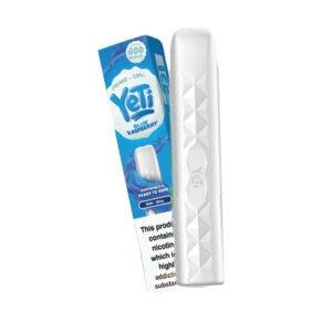 yeti ice poles blu lampone barra pod vape usa e getta con scatola